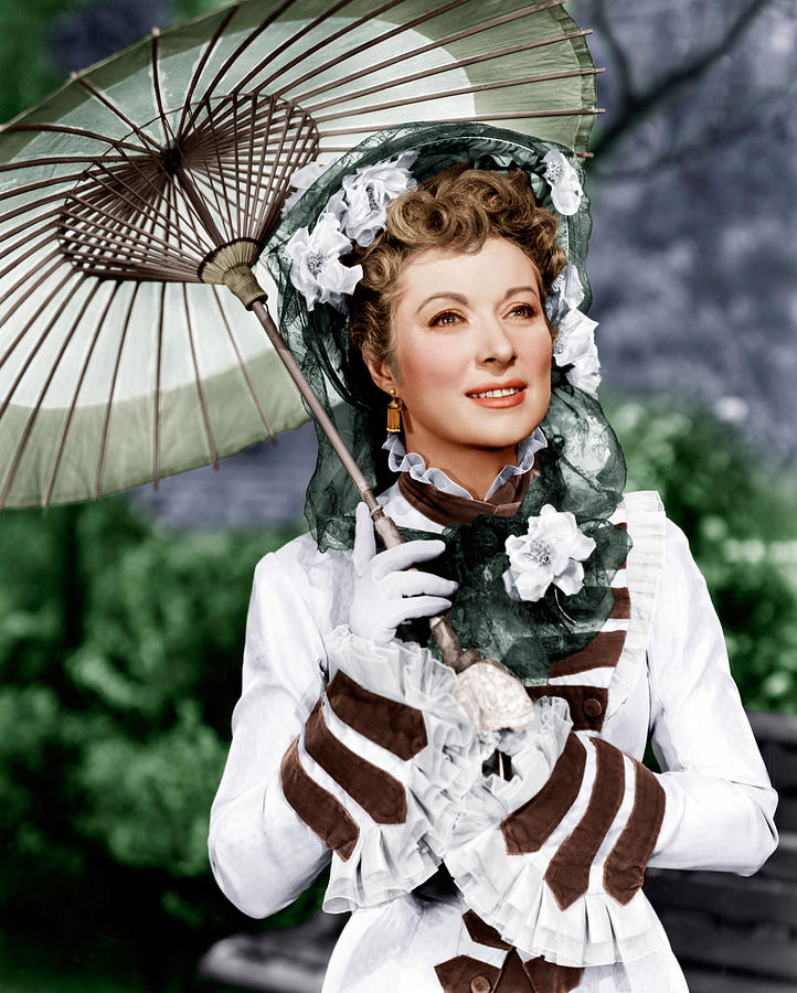That Forsyte Woman, Greer Garson, 1949 Photograph  - That Forsyte Woman, Greer Garson, 1949 Fine Art Print