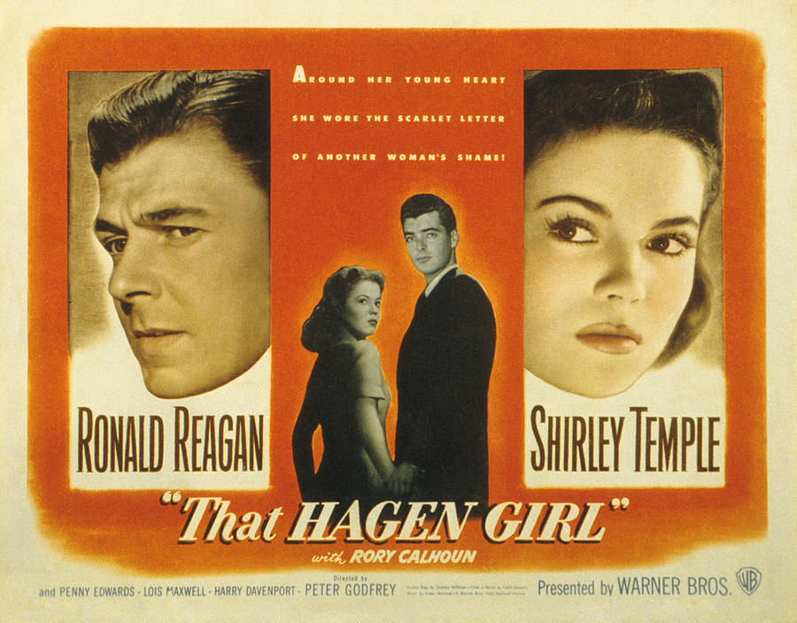 That Hagen Girl, Ronald Reagan, Rory Photograph  - That Hagen Girl, Ronald Reagan, Rory Fine Art Print
