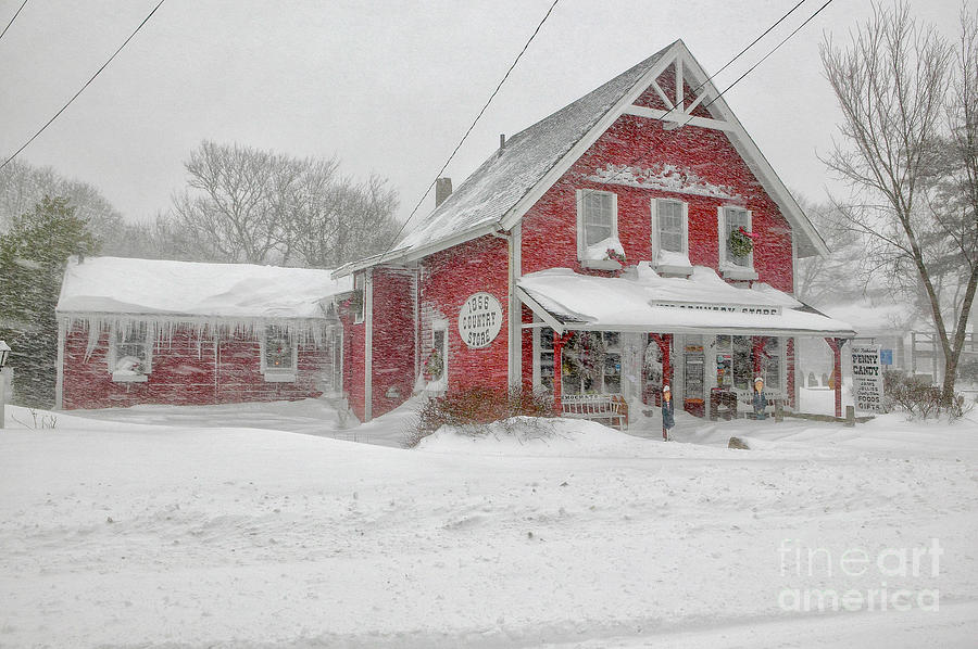 The 1856 Country Store On Main Street In Centerville On Cape Cod Photograph