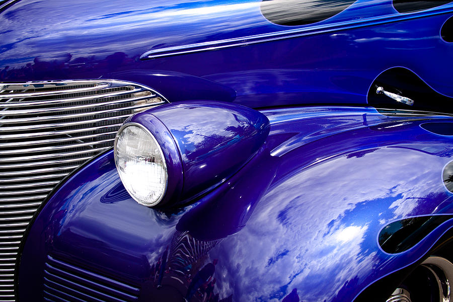 The 1939 Chevy Coupe Photograph  - The 1939 Chevy Coupe Fine Art Print