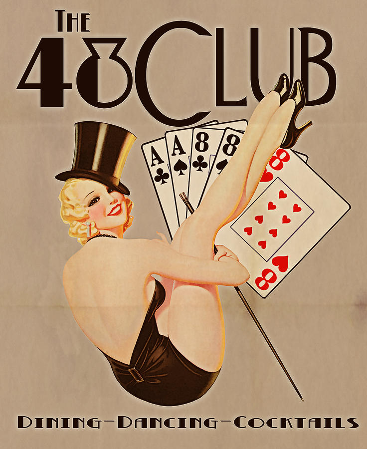The 48 Club Digital Art