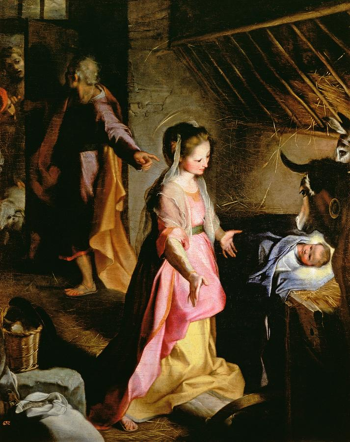 The Adoration Of The Child Painting