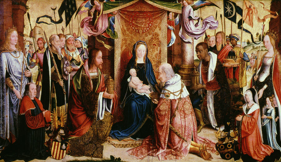 The Adoration Of The Kings Painting