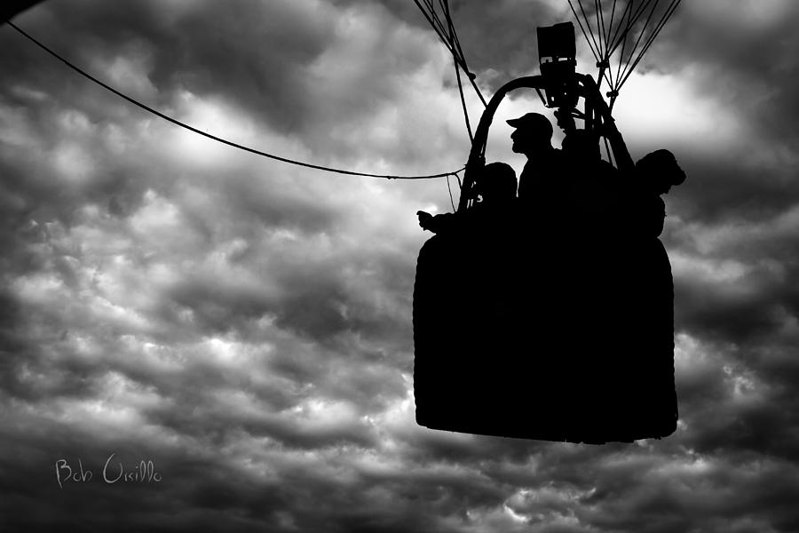 The Adventure Begins  Hot Air Balloon Photograph