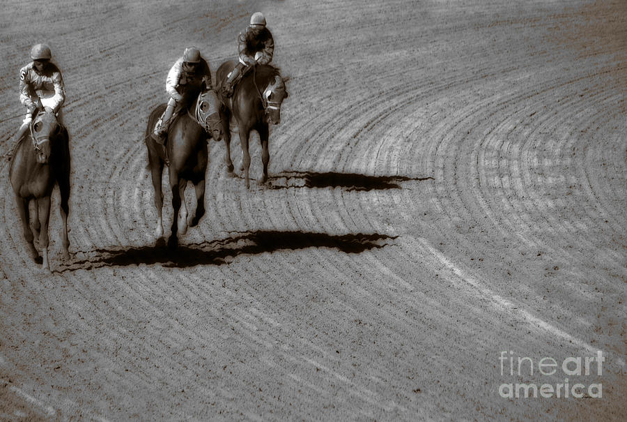 Horses Photograph - The After Burn  by Steven  Digman