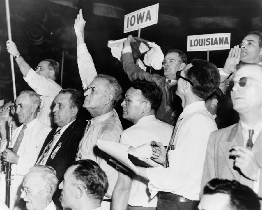 The Agitated Alabama Delegation Photograph
