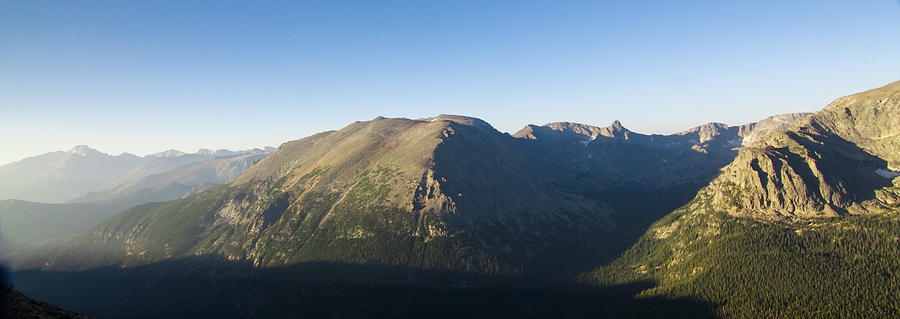 The Alpine Tundra Of Rocky Mountains In The Morning Light Photograph
