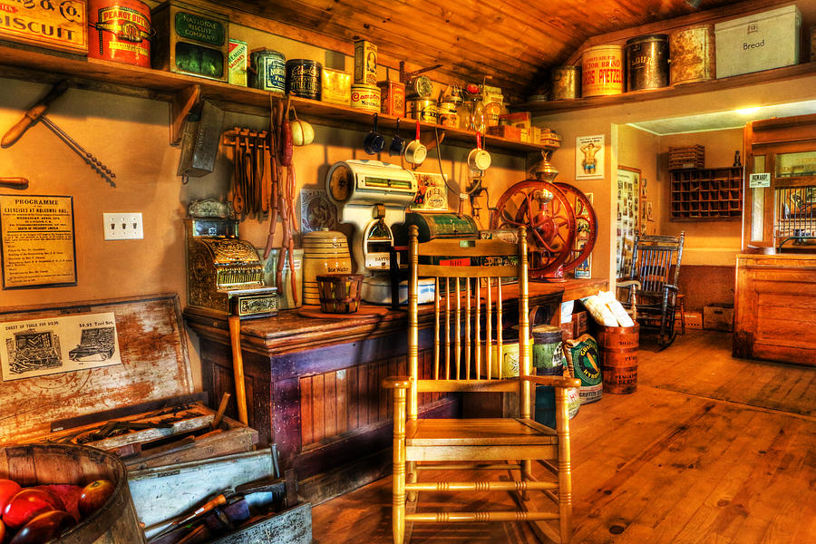 The American General Store -  - Vintage - Nostalgia Photograph