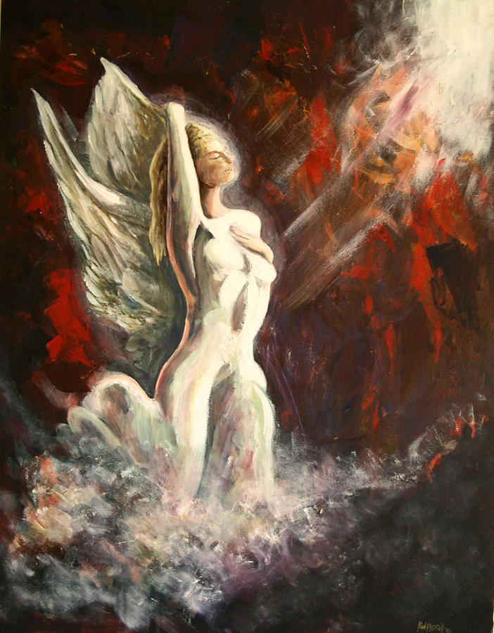 The Angel Painting