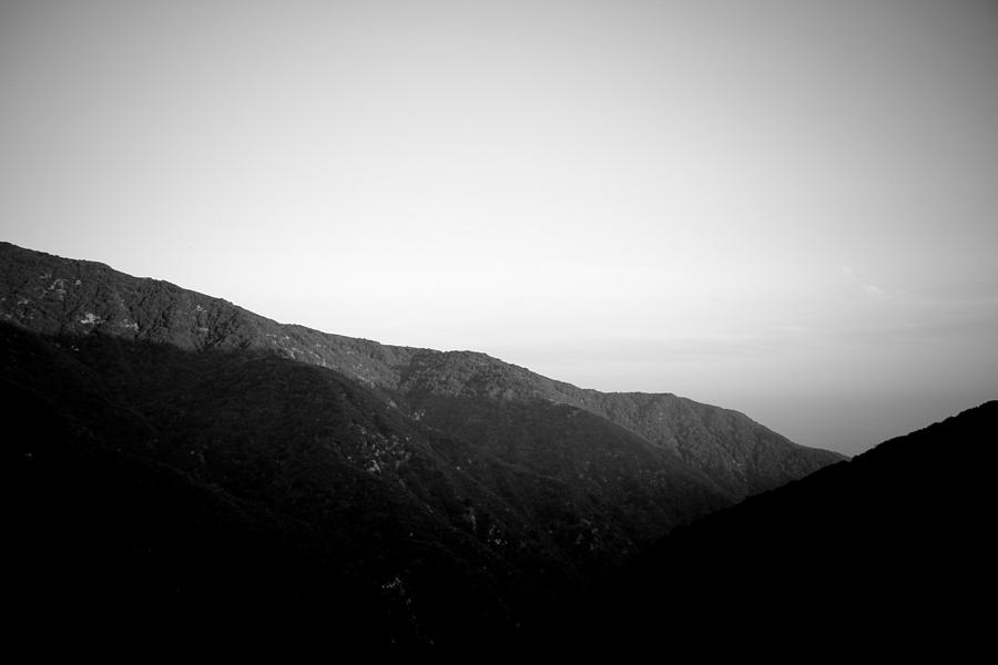 The Angeles Mountaintops Photograph  - The Angeles Mountaintops Fine Art Print