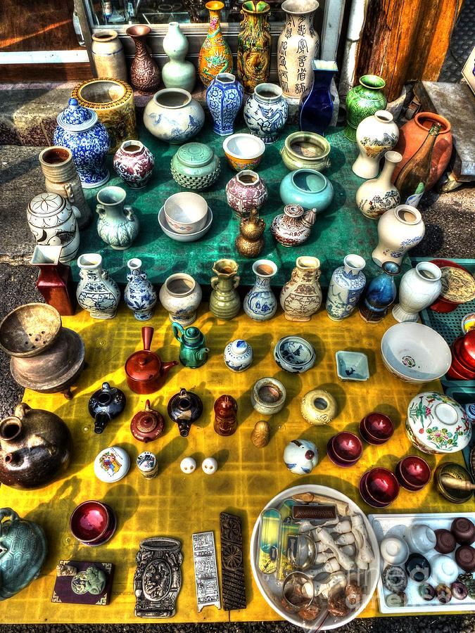 The Antique Market Photograph  - The Antique Market Fine Art Print