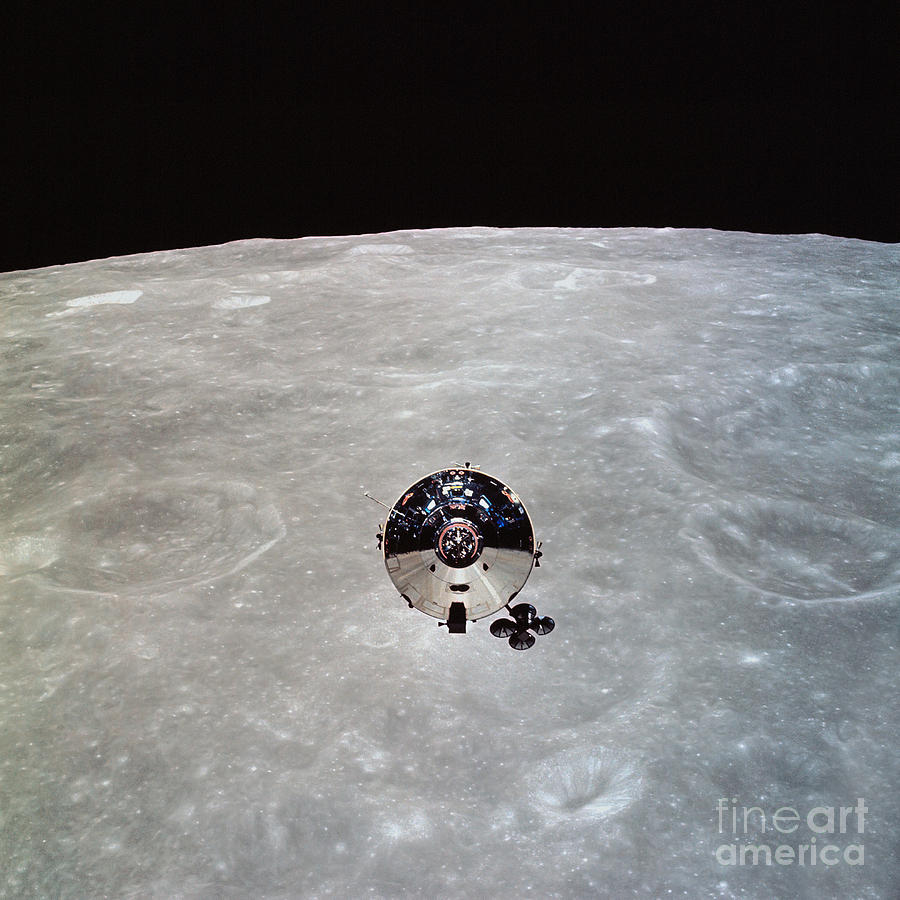 The Apollo 10 Command And Service Photograph