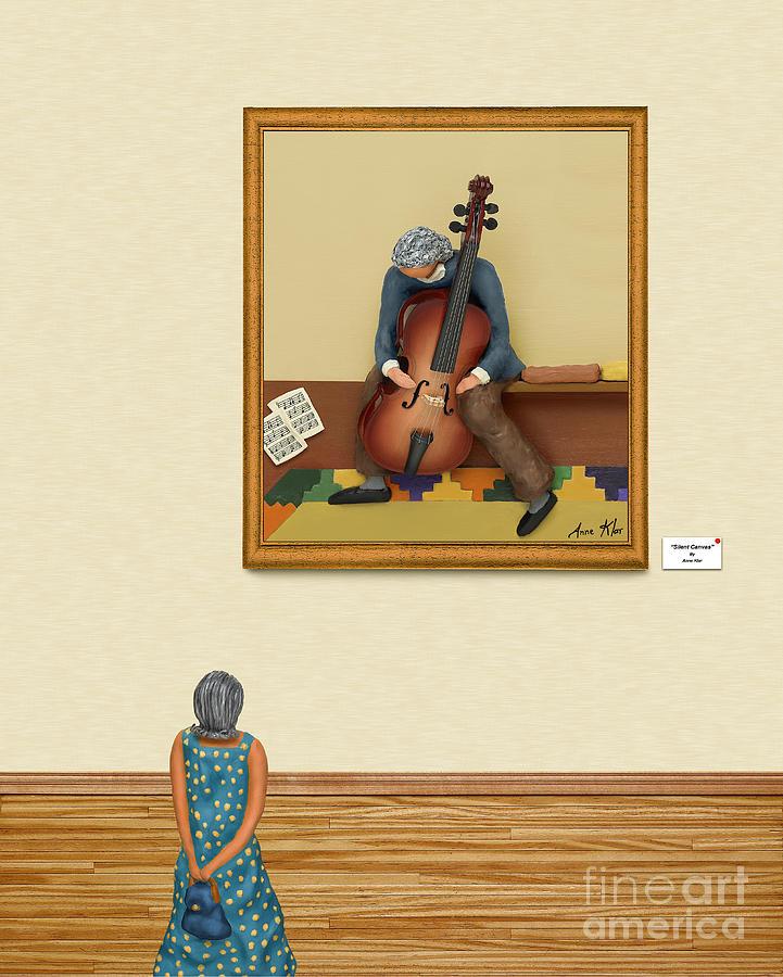 The Art Critic 2 Mixed Media