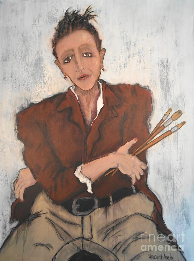 The Artist Painting