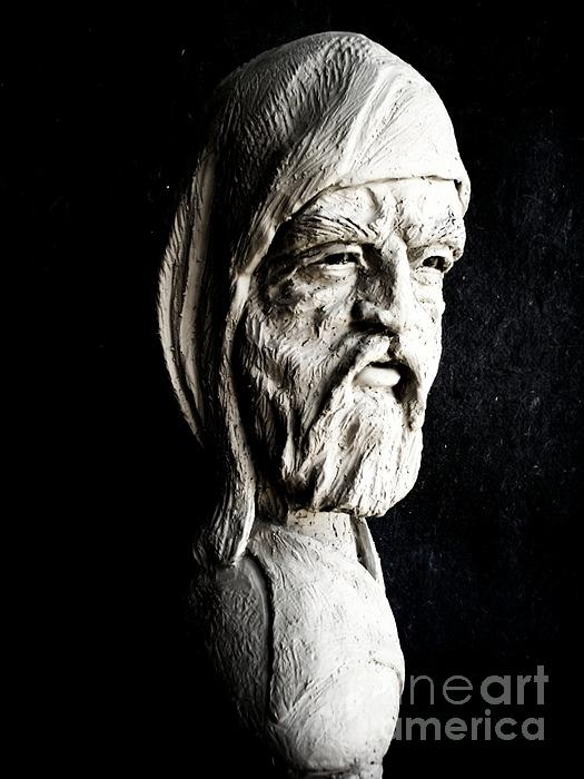 The Artist Sculpture  - The Artist Fine Art Print