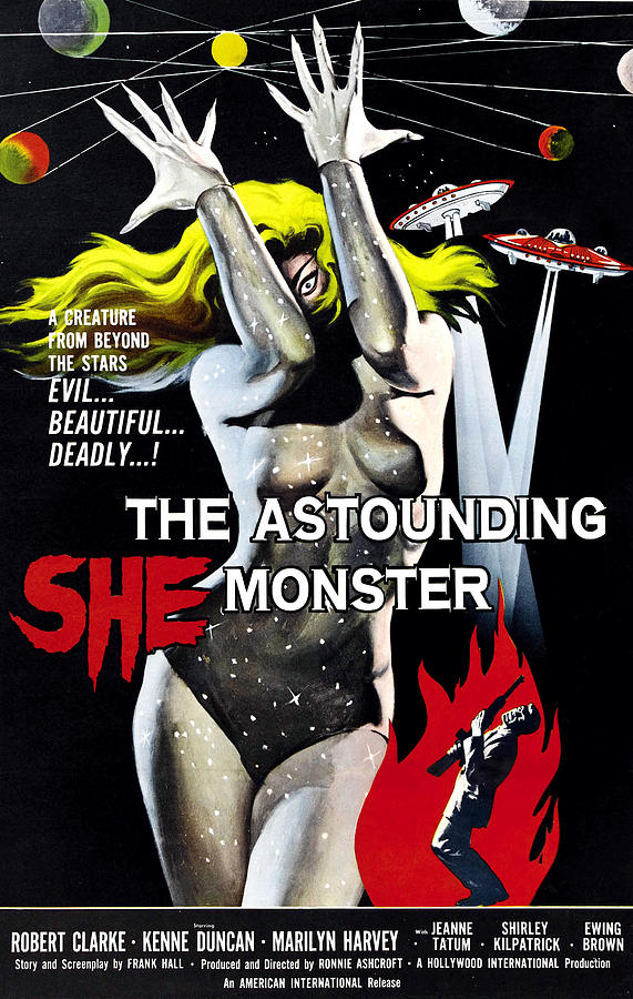 The Astounding She-monster, 1-sheet Photograph  - The Astounding She-monster, 1-sheet Fine Art Print