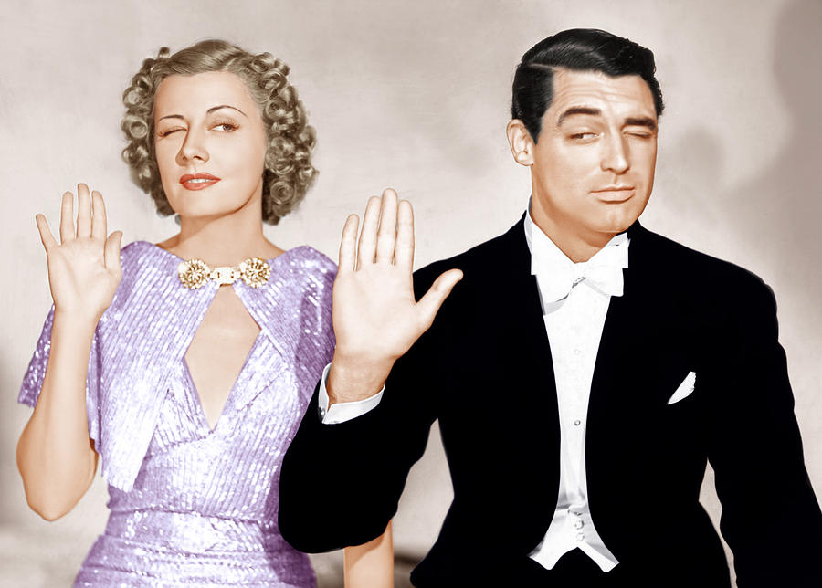 The Awful Truth, From Left Irene Dunne Photograph