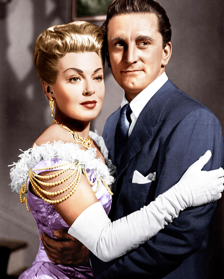 1950s Movies Photograph - The Bad And The Beautiful, From Left by Everett