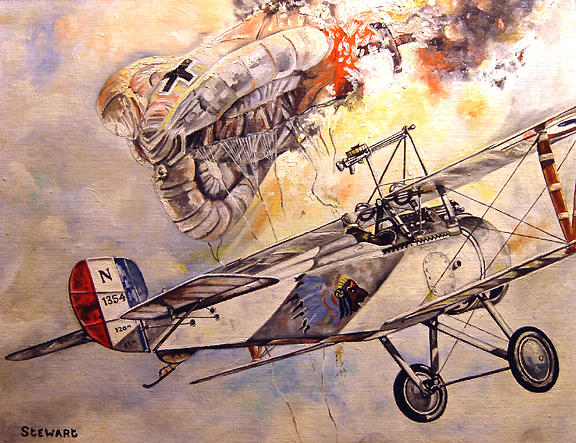 The Balloon Buster Painting