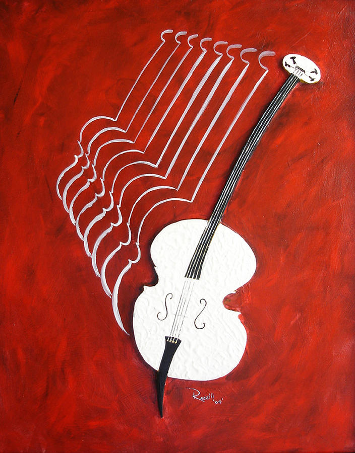The Bass Mixed Media  - The Bass Fine Art Print