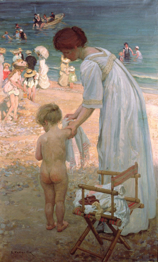 The Bathing Hour  Painting
