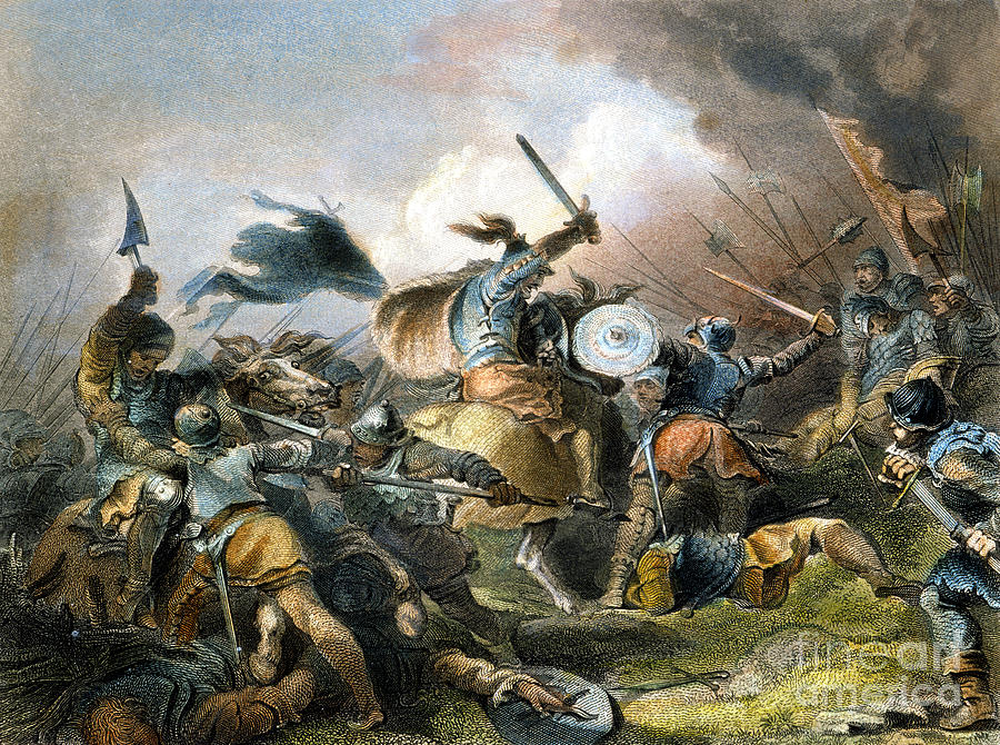 The Battle Of Hastings Photograph By Granger