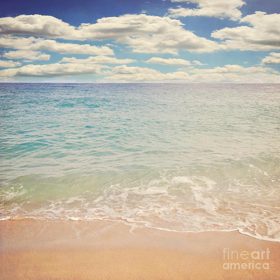The Beach Photograph by Lyn Randle