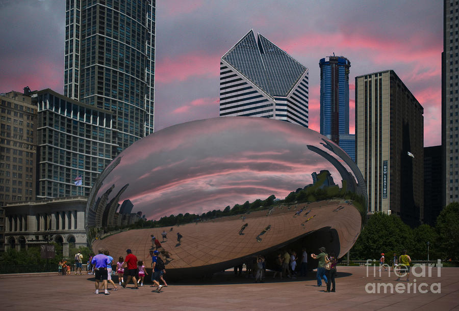 The Bean - Chicago Photograph  - The Bean - Chicago Fine Art Print