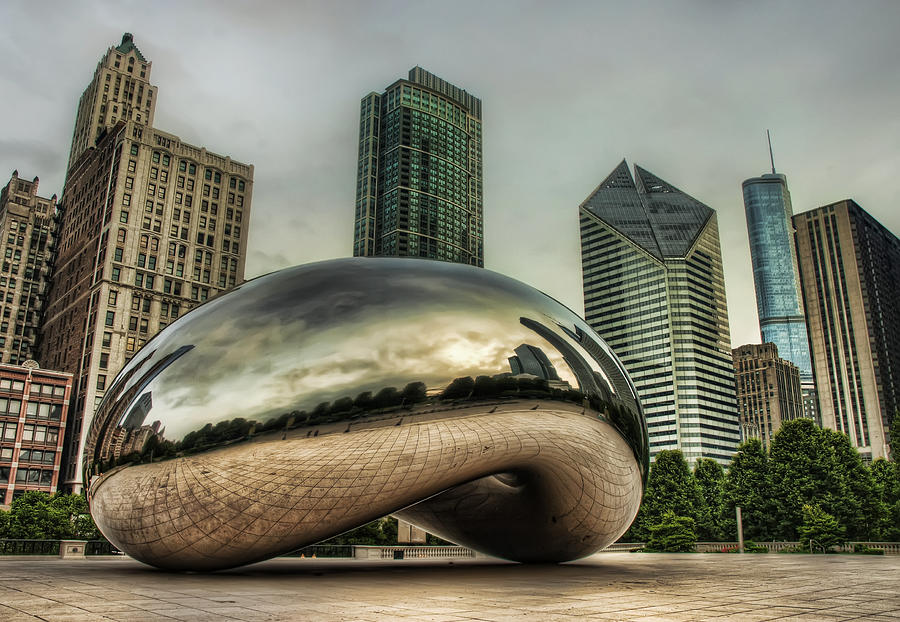The Bean In The City Photograph  - The Bean In The City Fine Art Print