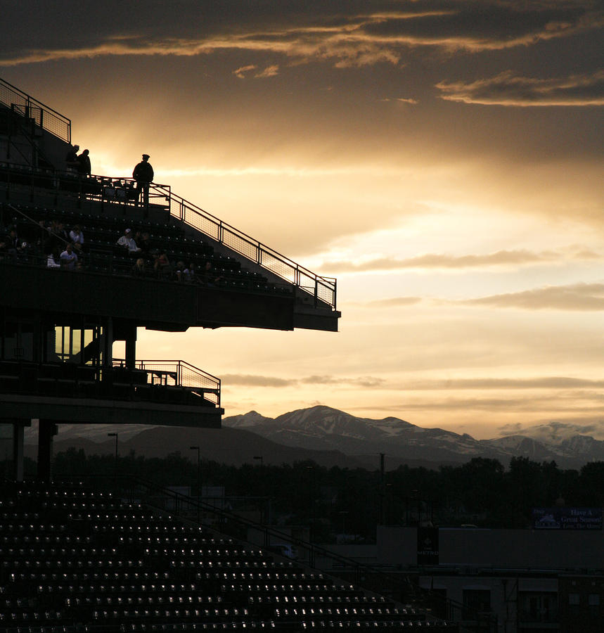 The Beauty Of Baseball In Colorado Photograph  - The Beauty Of Baseball In Colorado Fine Art Print
