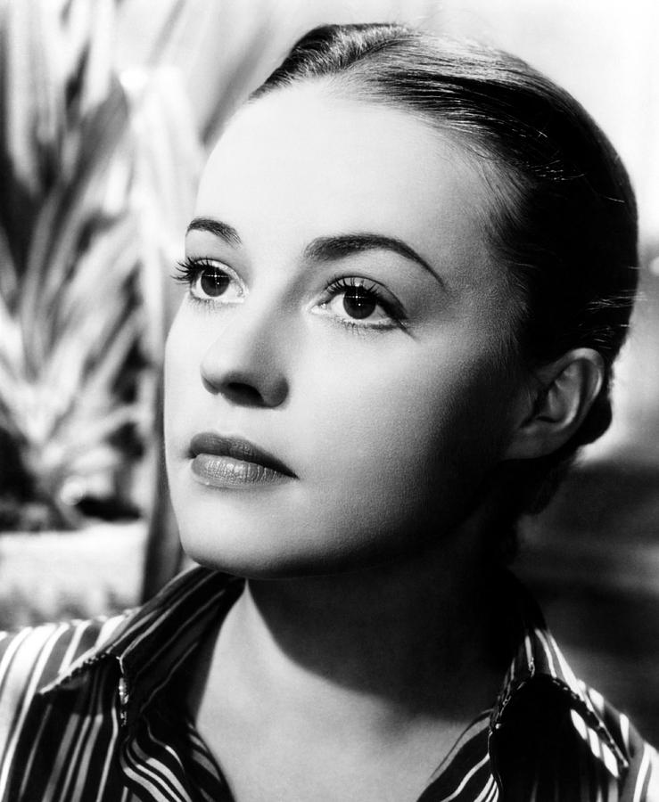 The Bed, Jeanne Moreau, 1954 Photograph