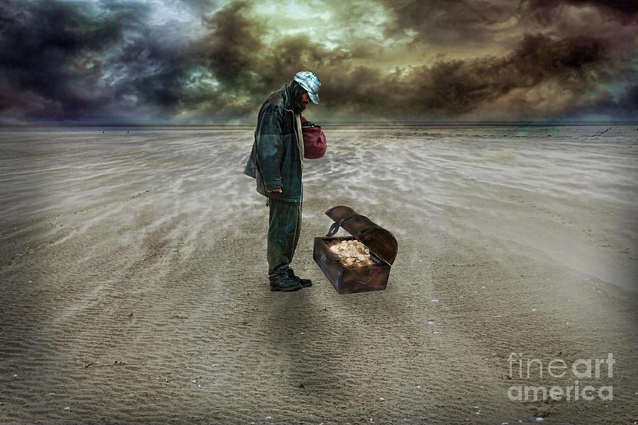 The Beggar Digital Art