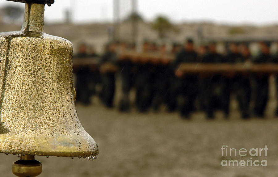 The Bell Is Present On The Beach Photograph  - The Bell Is Present On The Beach Fine Art Print