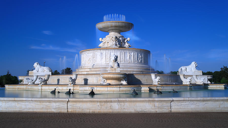 The Belle Isle Scott Fountain Photograph