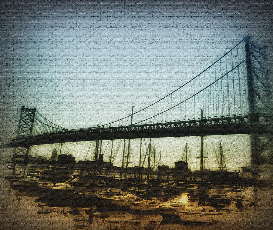 The Ben Franklin Bridge Photograph  - The Ben Franklin Bridge Fine Art Print