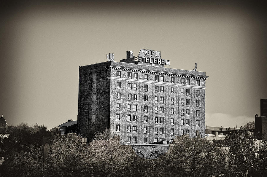 The Bethlehem Hotel Photograph  - The Bethlehem Hotel Fine Art Print