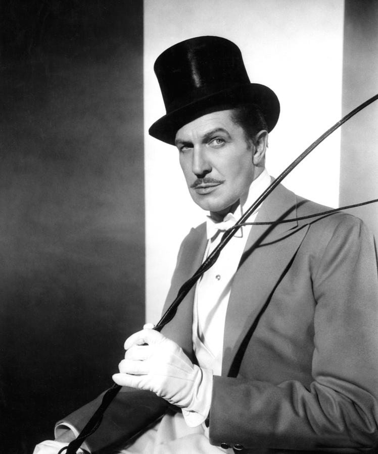 1950s Portraits Photograph - The Big Circus, Vincent Price, 1959 by Everett
