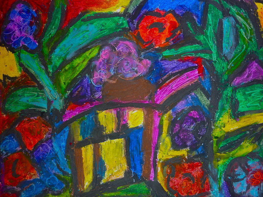 The Bird House Pastel  - The Bird House Fine Art Print