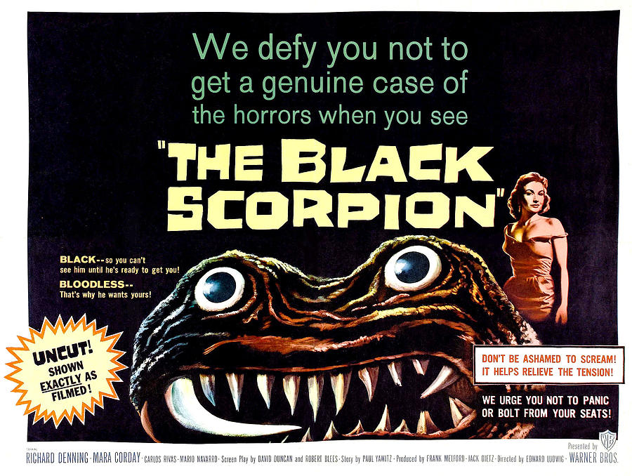 The Black Scorpion, On Right Mara Photograph