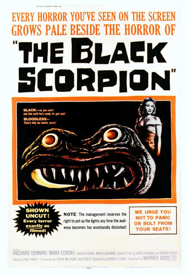 The Black Scorpion, Right Mara Corday Photograph