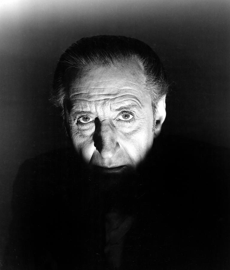 The Black Sleep, Basil Rathbone, 1956 Photograph