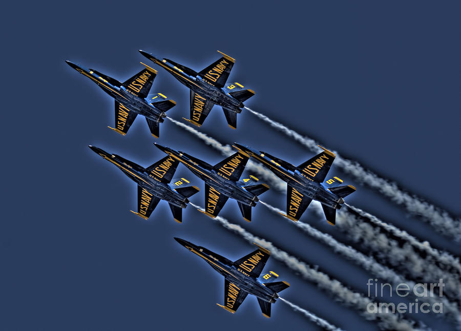 The Blue Angels Photograph