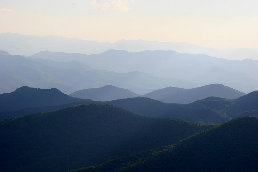The Blue Ridge Photograph  - The Blue Ridge Fine Art Print