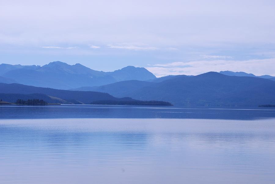 Blue Shore Photograph - The Blue Shore by Dany Lison