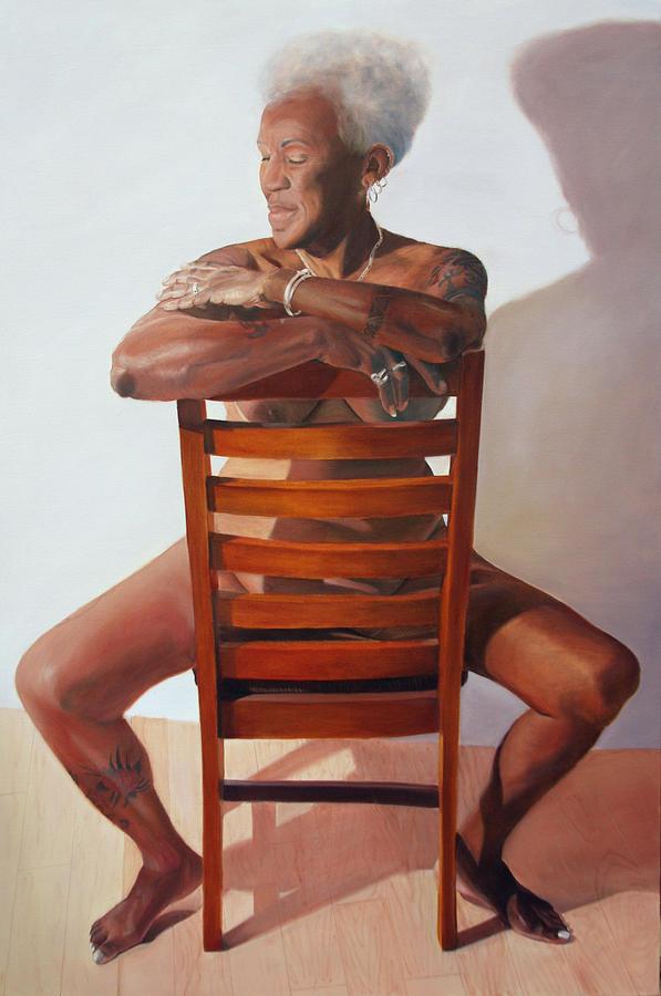 The Blues Woman - Gaye Adegbalola Painting