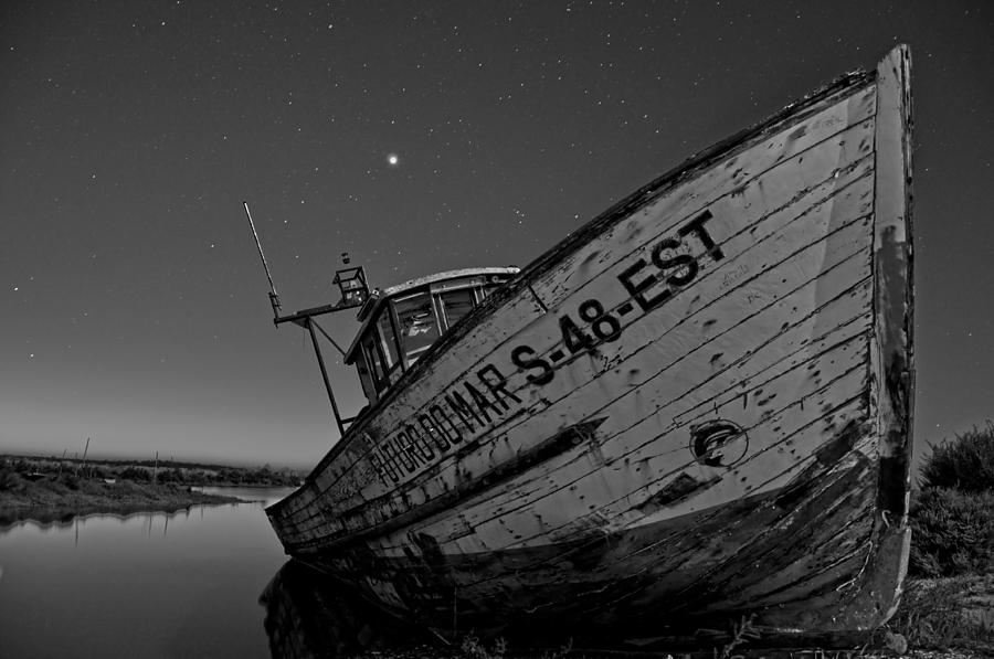 Boat Photograph - The Boat by Armando Carlos Ferreira Palhau