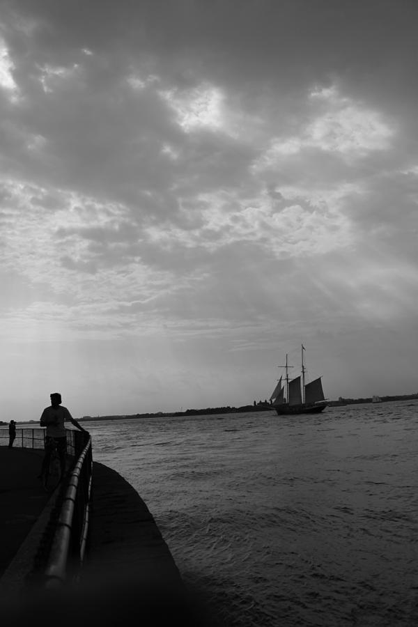Boat Photograph - The Boat by Nina Mirhabibi
