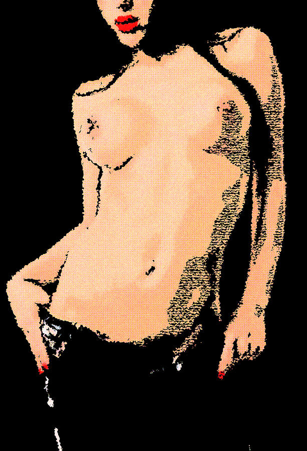 The Body  Digital Art  - The Body  Fine Art Print