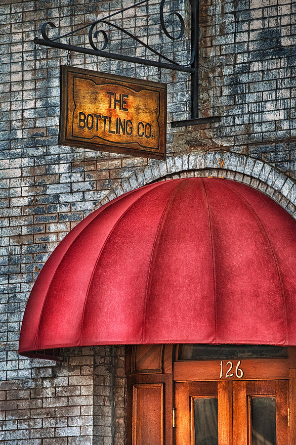 Bottling Company Photograph - The Bottling Co. by Brenda Bryant