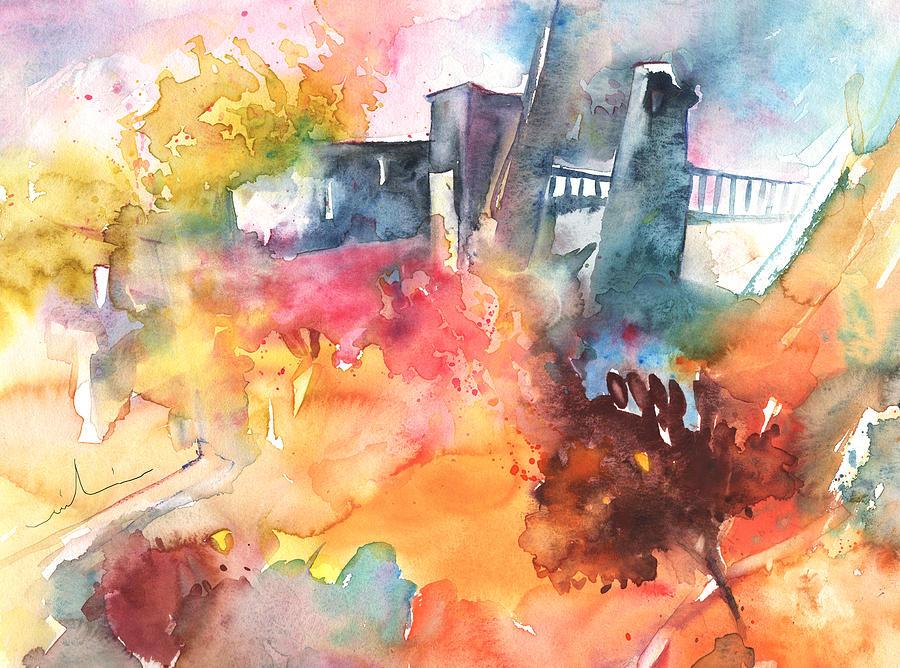 The Bridge On Planet Goodaboom Painting